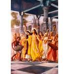 Lord Caitanya and the Panca Tattva Performing Sankirtan