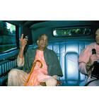 Srila Prabhupada Preaches in a Car