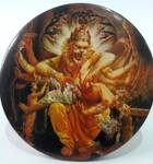 Acrylic Stand -- Nrsimhadeva Round
