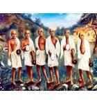 Six Goswamis of Vrndavana