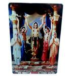 Acrylic Stand -- Lord Caitanya and His Associates (Panchatattva)  (large size)