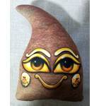 Goverdhana Sila (pointed) -- Childrens Stuffed Toy