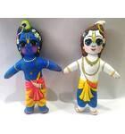 Krishna-Balaram Dolls -- Childrens Stuffed Toy