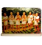 Acrylic Stand -- The Six Gosvamis of Vrindavan