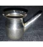 White Metal Water Cup with Pipe (Ganga Sagar)