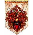 Art Flag -- Lord Nrsimhadeva