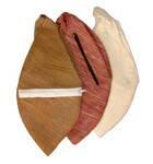 Silk Japa Bead Bag (cream / brown)