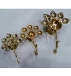 Five Ghee Wick Lamp -- Brass