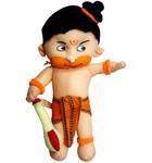 Childrens Stuffed Toy: Sri Hanuman Doll