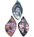 Japa Bead Bag -- Printed Krishna Art