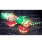 Metal Parrot (set of 2)