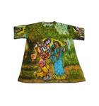 Boys T-shirt: Radha Krishna -- All-Over Print