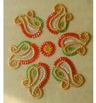 Rangoli Ready Made Moveable (packet of 6)